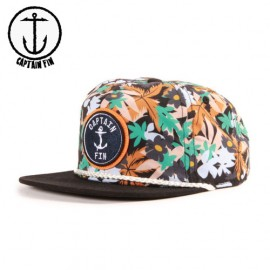 [CAPTAIN FIN] 캡틴핀 ONE DOLLA 5 PANEL HAT BLK