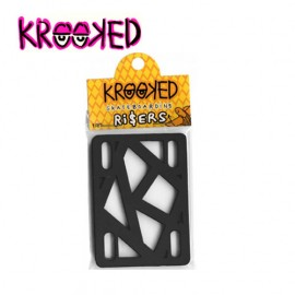[KROOKED] Risers Black 1/4