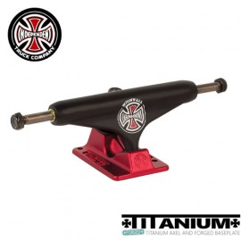 [INDEPENDENT] Forged Titanium Black/Red 129