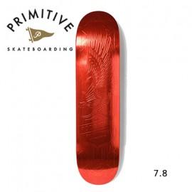 [PRIMITIVE] RED FOIL EAGLE 7.8 (프리미티브 스케이트 데크 7.8 사이즈)