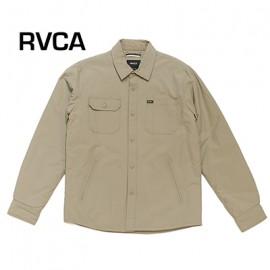 [RVCA] AG042-755 DKH 'CPO' Nylon Shirt Jacket (알브이씨에이 나일론 셔츠쟈켓 베이지)