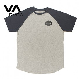 [RVCA] AH041-306 NVY (루카 기본로고 나그란 티셔츠 네이비)