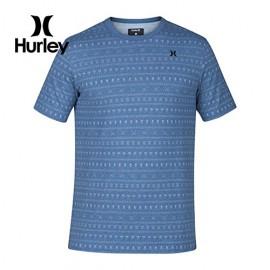 [HURLEY] DRI-FIT PRINTSHOP CREW SMH  (헐리 드라이핏 반팔 크루넥 티셔츠 블루)