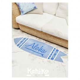서핑보드 매트 ALOHA SURF MAT LIGHT BLUE
