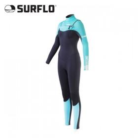 서핑슈트 SURFLO - GEMSTONE CHEST ZIP 3/2mm